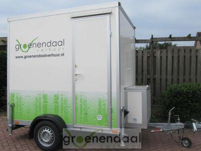 Tijdelijke Mobiele Badkamer : Mobiele badkamer te huur bij groenendaal toilet verhuur