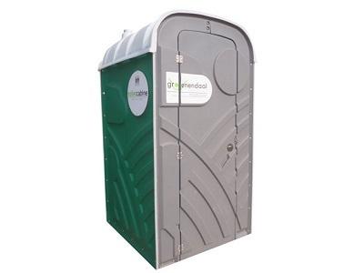 Toilet op Bouwplaats