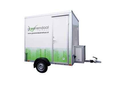 Mobiele badkamer Groenendaal toilet Verhuur