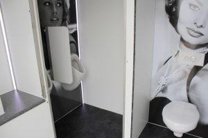 toiletkar te huur