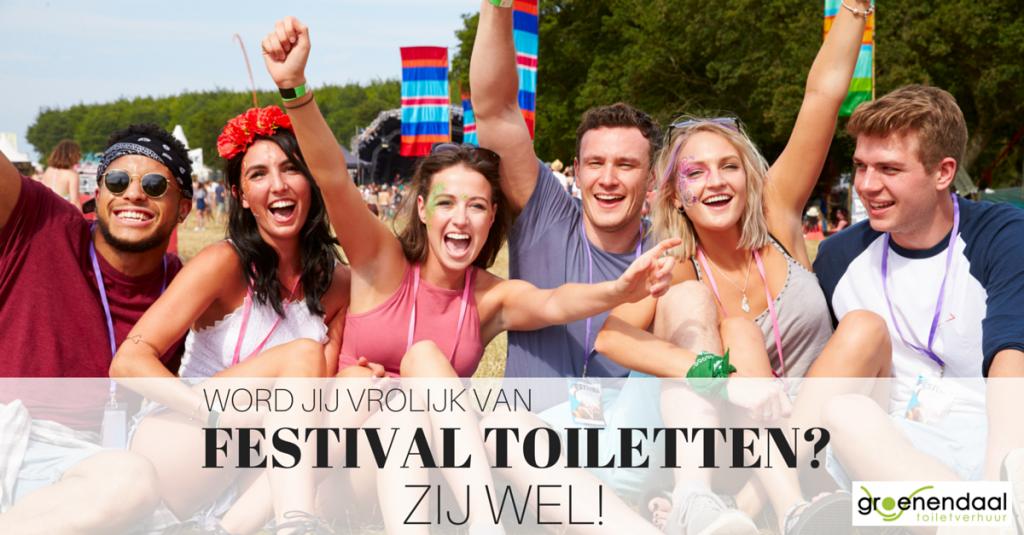 toiletten voor festival