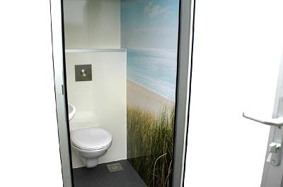 kleine toiletunit te huur