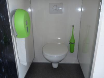 Toiletwagen vip binnenkant