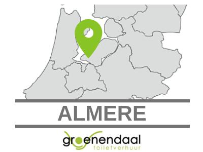 Dixi huren in Almere