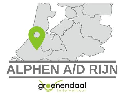 Dixi huren in Alphen aan den Rijn