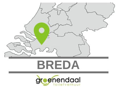 toilet huren in Breda