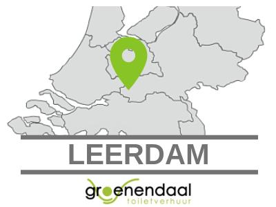 toilet huren in Leerdam