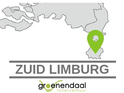dixi huren zuid limburg bij Groenendaal