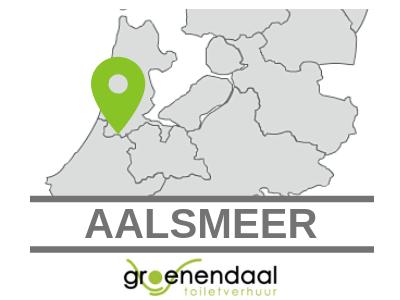 toilet huren in Aalsmeer
