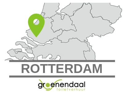 Dixi huren in Rotterdam
