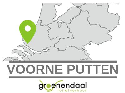 dixi huren Voorne Putten bij Groenendaal